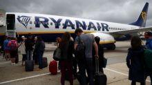 Ryanair says no flight disruption so far from UK pilot strike