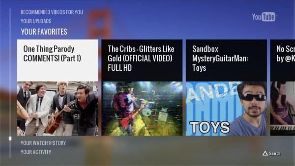 YouTube's new app for the PlayStation 3 rolling out, allows remote control from smartphones