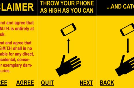 Send Me To Heaven gamifies wanton smartphone recklessness (video)