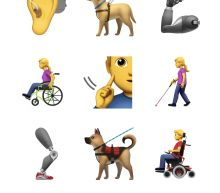 Prosthetics, Guide Dogs and Wheelchairs: Here Come Apple's Proposed Accessibility Emoji