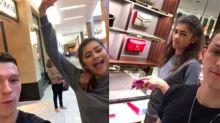 ¿Tenemos nueva pareja? Tom Holland y Zendaya se van de compras navideñas