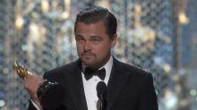 Oscars 2016: Leonardo DiCaprio Finally Wins Best Actor For The Revenant