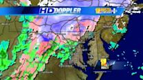 Wintry weather continues in Maryland