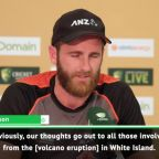 Williamson and Paine to honour New Zealand volcano victims