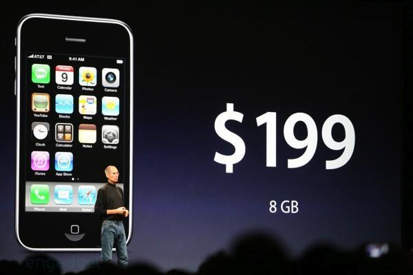 iPhone 3G is finally official, starts at $199, available July 11th