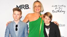 Sharon Stone's 16-Year-Old Son Says He 'Won't Let' His Mom Give Him Dating Advice