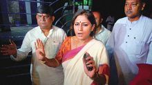 Kolkata: BJP MP Roopa Ganguly's son arrested after his car rams into wall