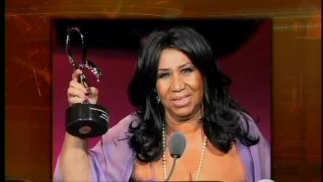 aretha franklin honored