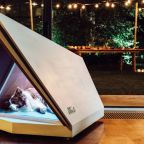 Ford builds a noise-canceling doghouse to fight off fireworks sounds
