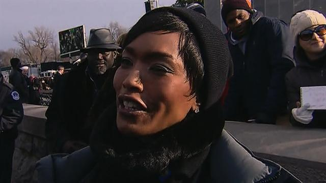 Angela Bassett on inauguration, Coretta Scott King