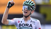 Kamna posts solo win in the Alps, Roglic keeps yellow jersey