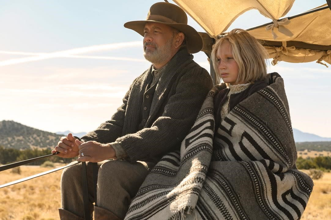 Review Tom Hanks Is Doggedly Heroic In News Of The World The son of a cattle rancher and rodeo queen, brown received his first role by answering a small advertisement in a local santa fe, new mexico. review tom hanks is doggedly heroic in