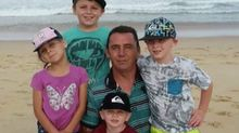 Sydney family told only one child can visit dying father of four