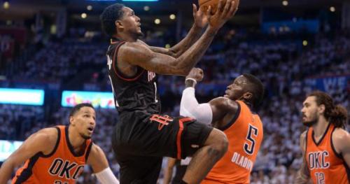 Basket - NBA - Houston à une victoire des demi-finales après son succès dans l'Oklahoma