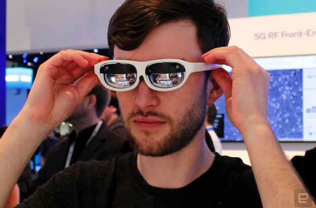 Nreal's mixed reality glasses can be powered by a 5G phone