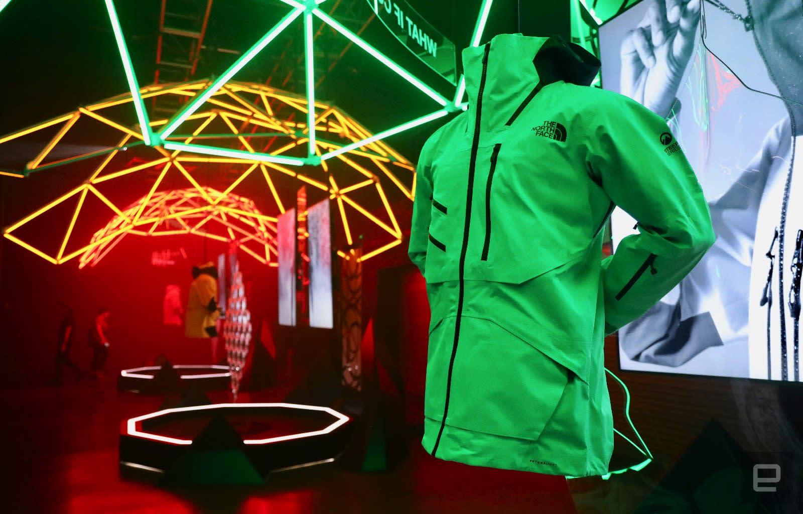 North Face'in yüksek teknolojili Futurelight ceketleri sonunda burada | Engadget