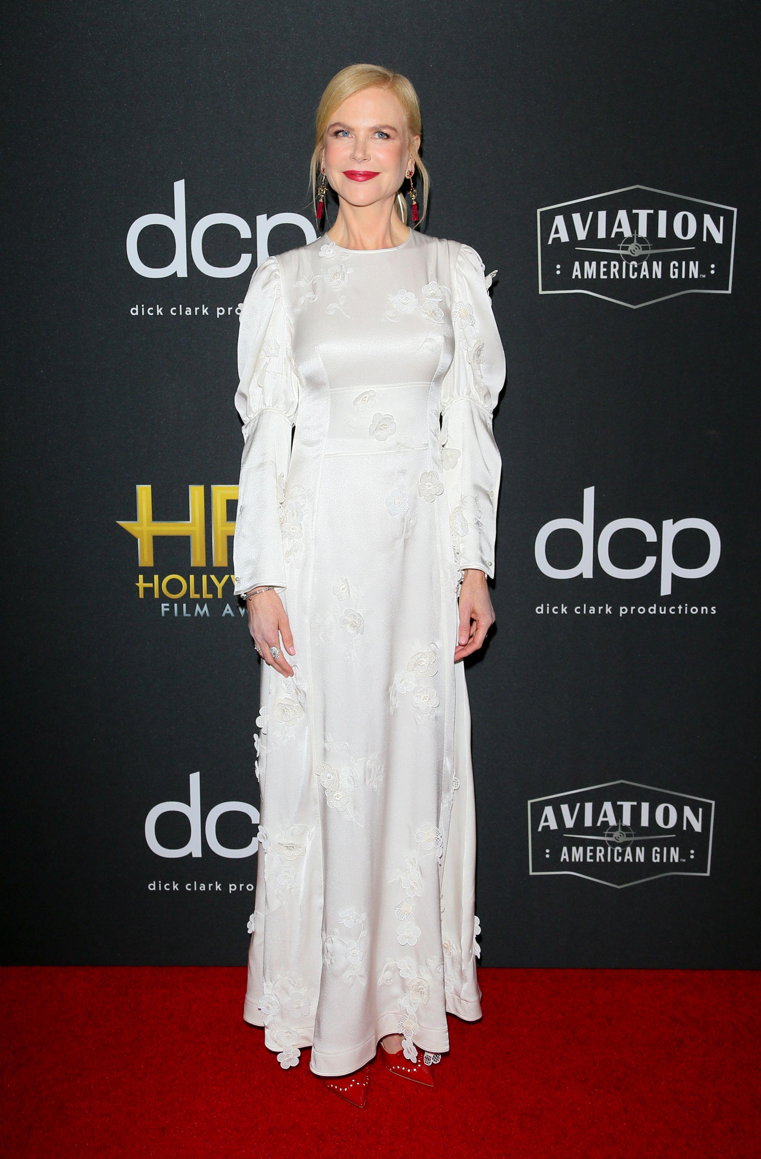 Nicole Kidman, Jennifer Garner and Olivia Wilde among November 2019's best dressed celebrities - Yahoo Lifestyle Australia