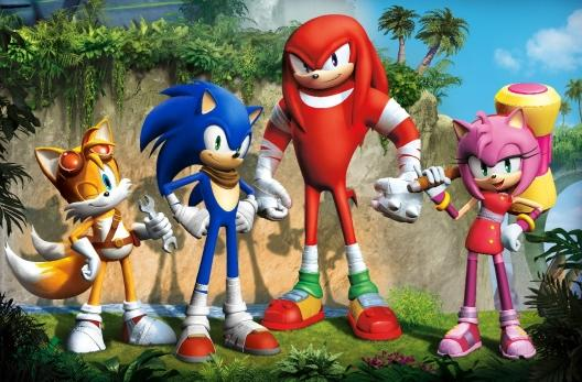 Early Sonic Boom character designs were 'traumatic' for Sonic Team