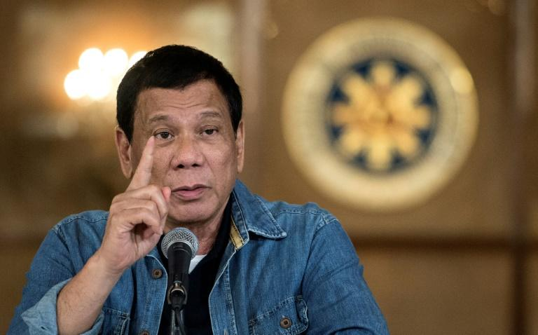 Philippine president bruised, scratched from motorcycle fall