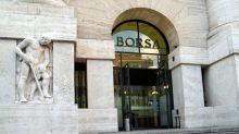 Piazza Affari ripiega (-0,2%), denaro su Telecom e Mondadori