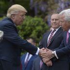 'He's Proclaimed His Innocence.' Trump Uses Familiar Line on Patriots Owner Robert Kraft