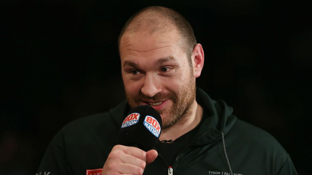 Fury will not re-apply for boxing licence