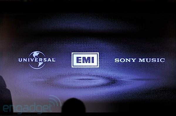 Google partners with Universal, EMI, Sony Music, 23 independent labels on Google Music, scores exclusive content