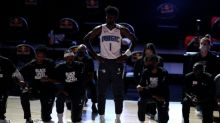 Magic's Isaac takes lone stand at NBA restart, Popovich also stands