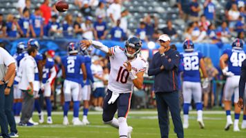 Nagy eager for Trubisky's growth this season