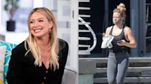 Hilary Duff makes a Starbucks run in an ultra-comfy pair of celebrity-loved leggings