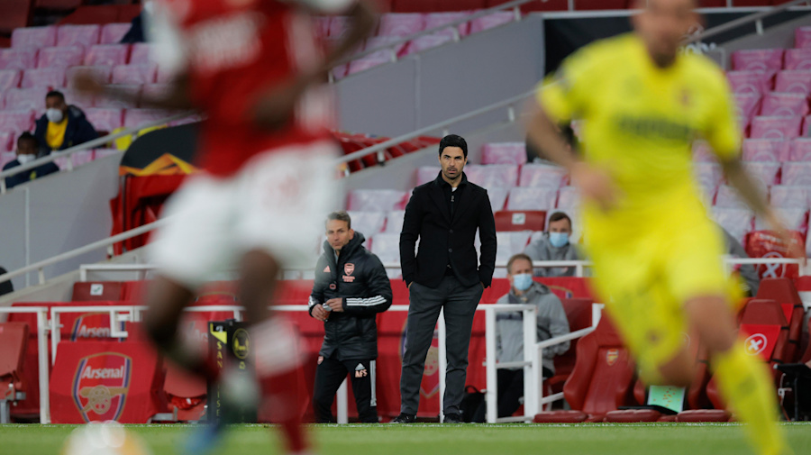 Mikel Arteta 'devastated' as Arsenal fall in Europa League semi-final