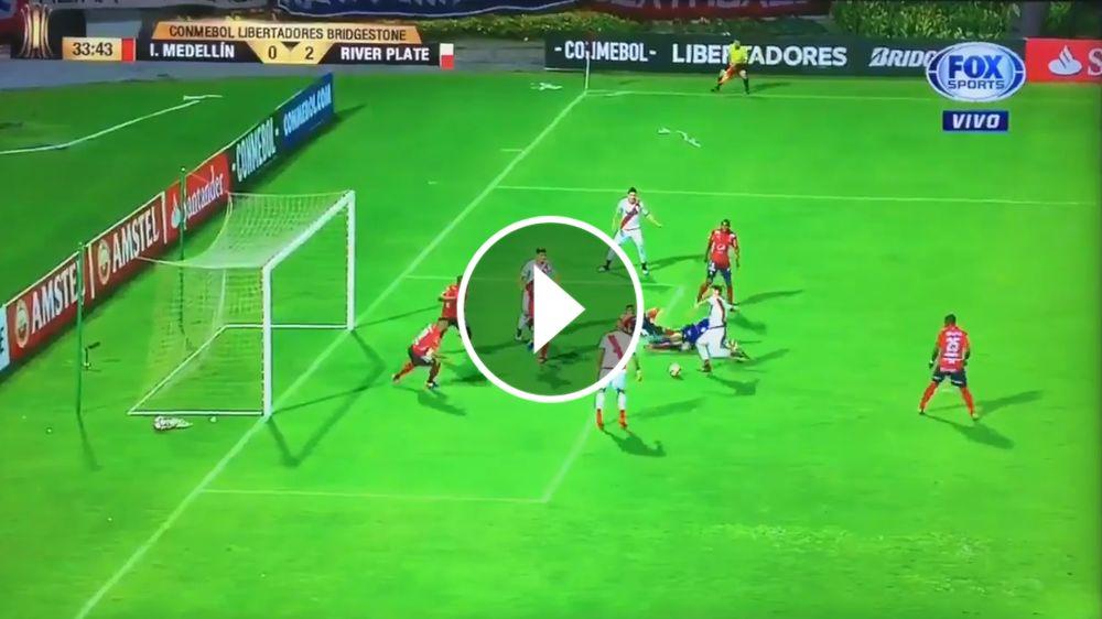 VIDEO: Driussi se encontró con el rebote y puso el 2-0