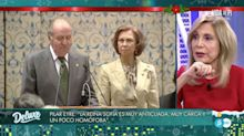 Pilar Eyre no da tregua a la reina Sofía y es diana de sus dardos envenenados