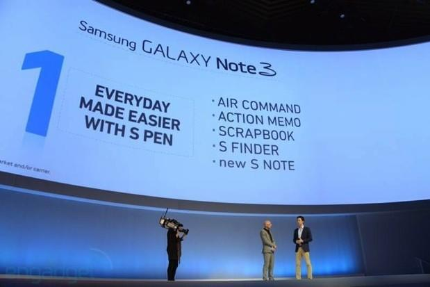 Samsung details new S Pen with Air Command feature for Galaxy Note 3
