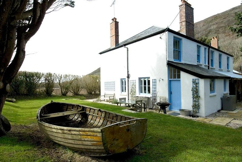<p><strong>Where?</strong> Welcombe, Devon</p>  <p>The six bedroom house is filled with plenty of bits and pieces made by the TV personality herself. The property sleeps up to 14 people and boasts a luxurious kitchen fit with an aga, a cosy living room and a number of log fires.</p>  <p><strong>Price per person, per week:</strong> £248</p>