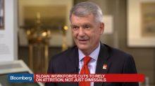 Wells Fargo's Sloan Signals He's Prepared to Stay Until He's 65