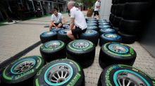 Motor racing: Formula One's 'rainbow range' of tires simplified for 2019