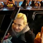 Navalny's wife tells supporters not to be afraid
