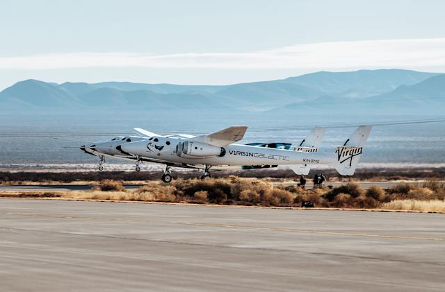 Virgin Galactic's latest SpaceShipTwo test ends with a rocket motor failure (updated)