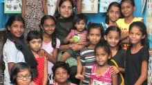 She earned Rs 9/day, educated herself and now teaches others