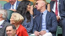 Jeff Bezos and Girlfriend Lauren Sanchez Enjoy a Date at Wimbledon Men's Final