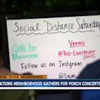 Nations neighborhood gathers for porch concerts