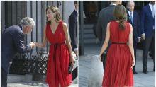 Las 12 veces que Letizia nos enamoró vestida de rojo