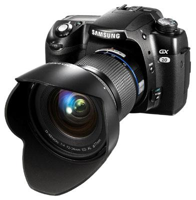 Samsung GX-20 DSLR gets official in the UK