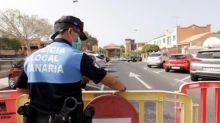 Covid-19 a Tenerife, agenti sono riusciti a sgomberare una spiaggia