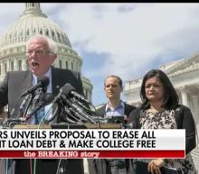 Sanders unveils proposal to tax Wall Street to erase student loan debt, make college free