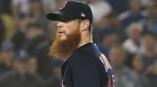 Ex-Red Sox closer Craig Kimbrel shaves beard, looks unrecognizable
