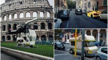 LEGO超跑駛入羅馬地標 超現實相集網上熱傳