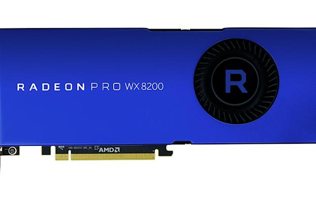 AMD's Radeon Pro WX 8200 is for content creators on a budget
