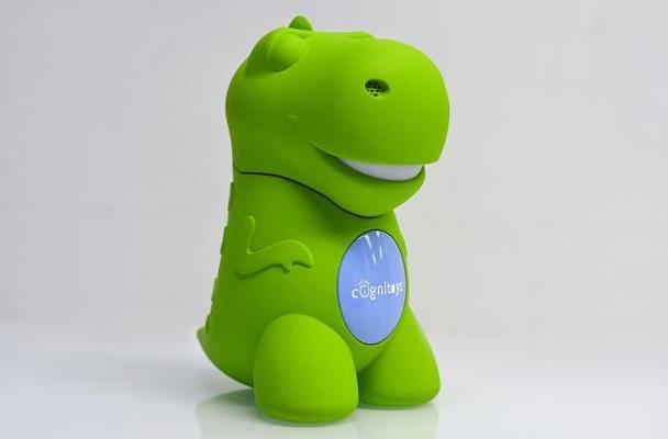 CogniToys' huggable dinosaur is connected to IBM's supercomputer